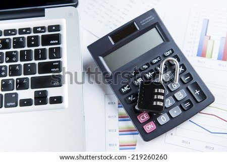 Internet Security Imagery - stock photo