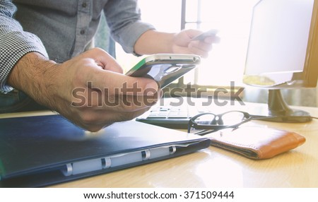 Internet shopping,online payment with credit card. - stock photo
