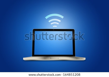 Internet technology and networking concept - stock photo