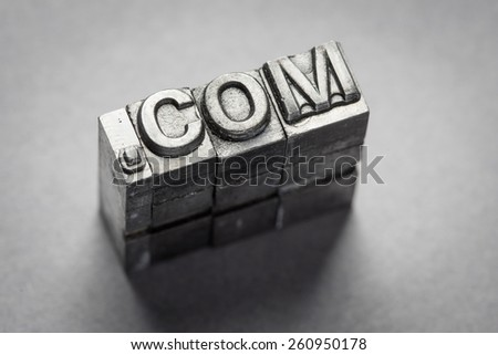 Internet, www, website, .com, business - stock photo