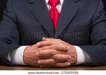 Interview, Business, Confidence. - stock photo