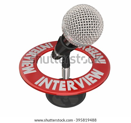 Interview Microphone Radio Podcast Guest Speaker Communication