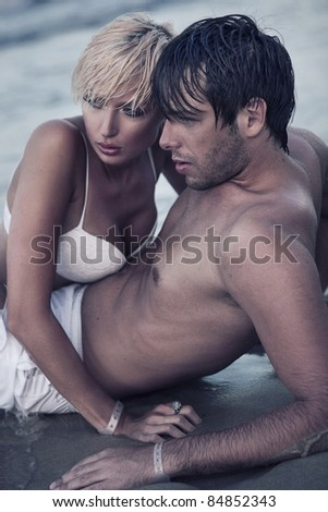 Intimacy on the beach