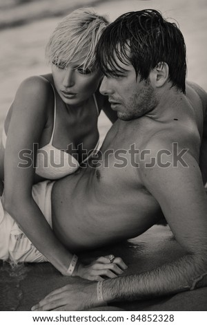 Intimacy on the sand