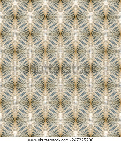 Intricate mini blue / orange ripple design on white  background (tile able)  - stock photo