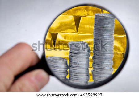 Invest to gold or money? Financial analysis of bank reserve.