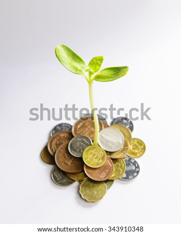 Investment concepts - stock photo