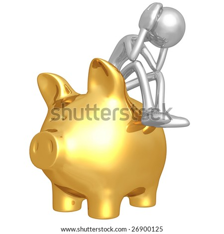 Investment Problem - stock photo