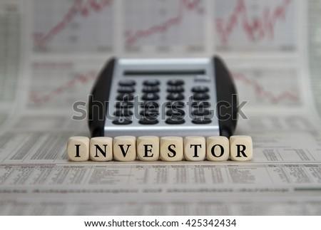 Investor - stock photo