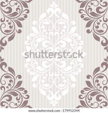 Invitation card. Raster version of vector. - stock photo