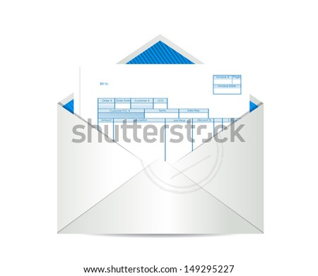 Invoice With Gst Word Invoice Bill Stock Images Royaltyfree Images  Vectors  Cash Receipt Journal Entry Excel with Adams Receipt Book Invoice Receipt Inside Mailing Envelope Illustration Design Over A White  Background Consumer Rights Faulty Goods No Receipt