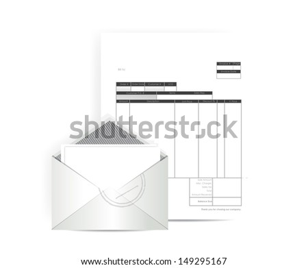 London Cab Receipt Word Dunning Letter Stock Images Royaltyfree Images  Vectors  Open Office Receipt Template with Email Template For Invoice Invoice Receipt Mail Illustration Design Over A White Background Google Docs Invoice Template Pdf