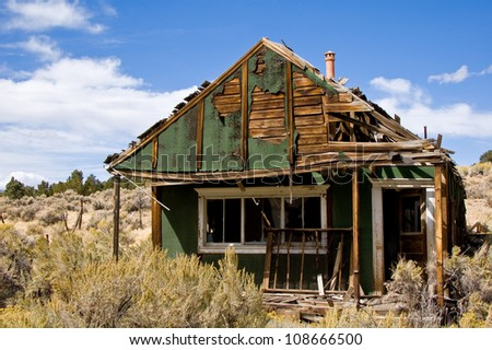 Ione, Nevada - stock photo