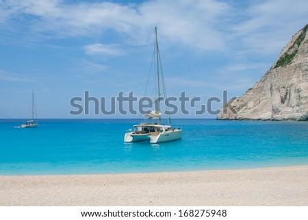 Ionian sea - stock photo