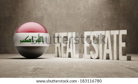 Iraq High Resolution Real Estate Concept - stock photo