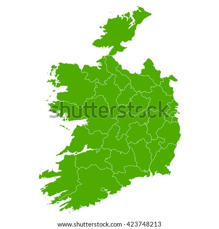 Ireland?map country icon