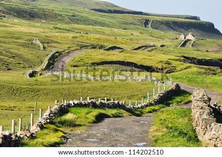 Irish Landscape, Co. Clare - stock photo