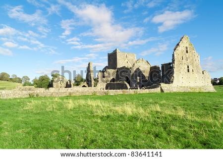 Irish Ruins Cashel - stock photo