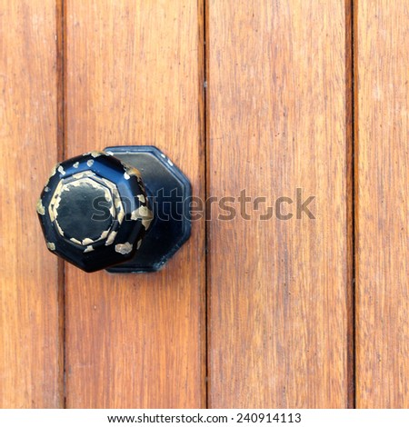 Irish Wooden Door