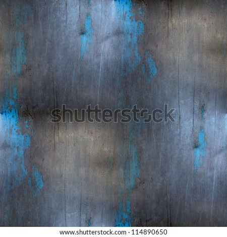 iron blue background metal steel seamless gray texture - stock photo