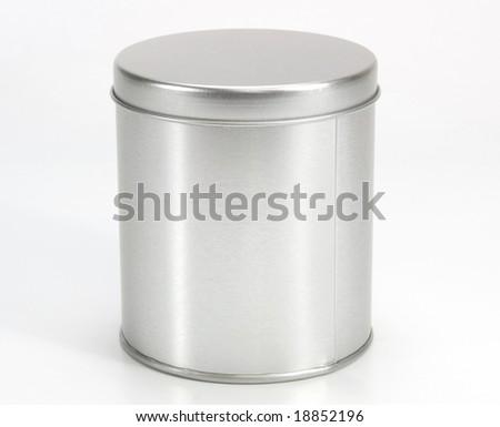 Iron Can - stock photo