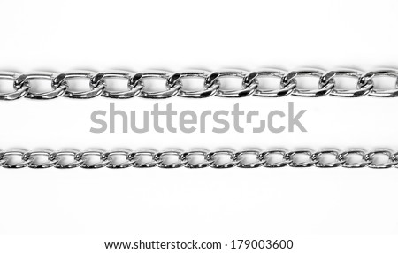 iron chains - stock photo