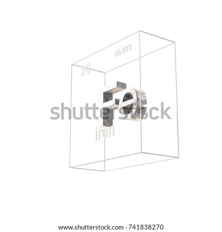 Iron chemical element atomic number atomic stock illustration iron chemical element atomic number and atomic weight chemical element of periodic table urtaz Image collections