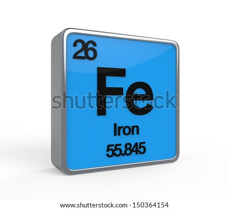 Iron periodic table stock images royalty free images vectors shutterstock - Iron on the periodic table ...