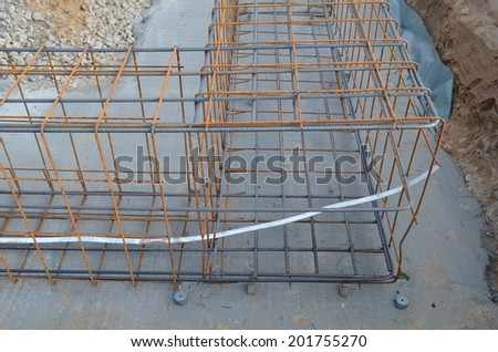 Iron mesh for reinforced concrete