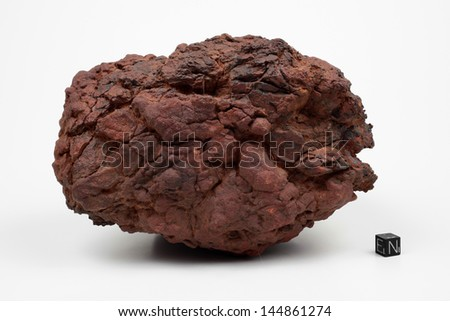 Iron meteorite Wolf Creek from Australia - stock photo