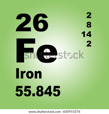Iron periodic table elements stock illustration 600955076 shutterstock iron periodic table of elements urtaz Choice Image