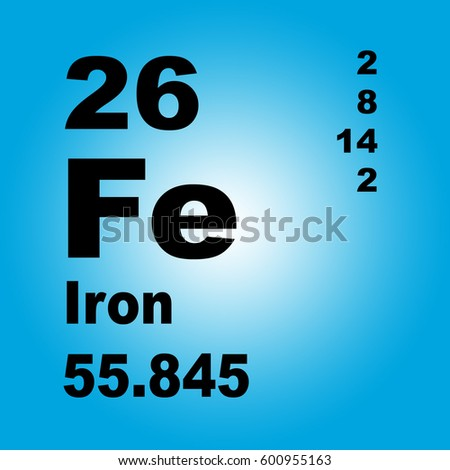 Iron periodic table elements stock illustration 600955163 shutterstock iron periodic table of elements urtaz Choice Image