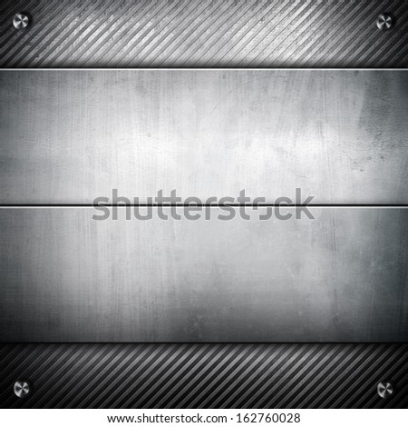 iron plate background - stock photo