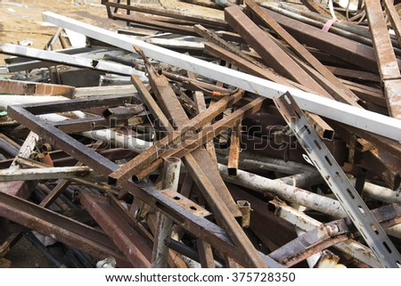 iron scrap for recycle