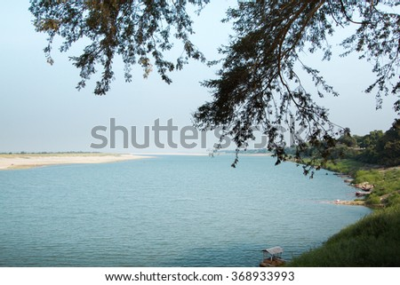 Irrawaddy River is in Bagan, Myanmar.