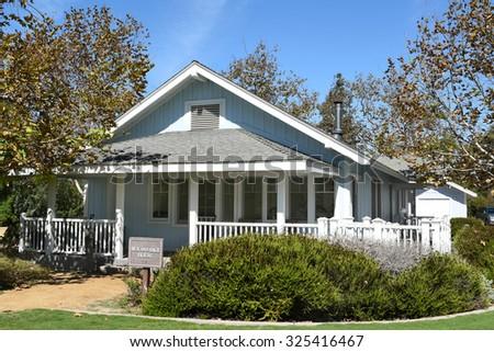 Irvine ranch model homes
