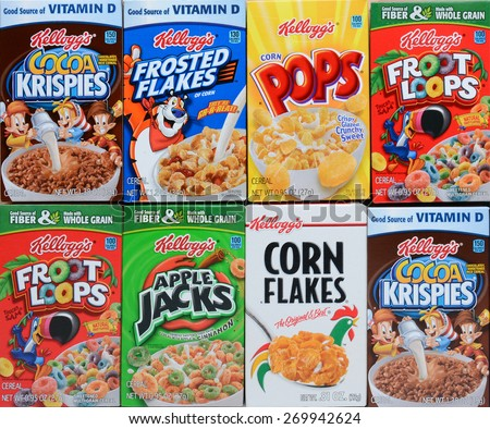 Cereal Boxes | www.pixshark.com - Images Galleries With A ...
