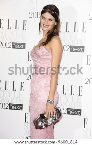 Isabella Fortani arriving for the Elle Style Awards 2012 at the Savoy Hotel, London. 13/02/2012 Picture by: Steve Vas / Featureflash