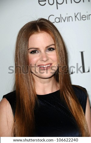 Isla Fisher  at ELLE Magazine's 15th Annual Women in Hollywood Event. Four Seasons Hotel, Beverly Hills, CA. 10-06-08