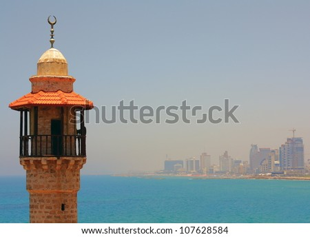 Islam in Israel - stock photo