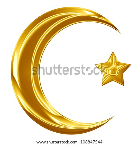The origin of islamic symbol from om the number 786