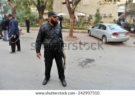 ISLAMABAD,PAKISTAN - JANUARY 04: Punjab Governor Salman Taseer assassinated in capital  Islamabad  on January  04,2011 in Islamabad, Pakistan.