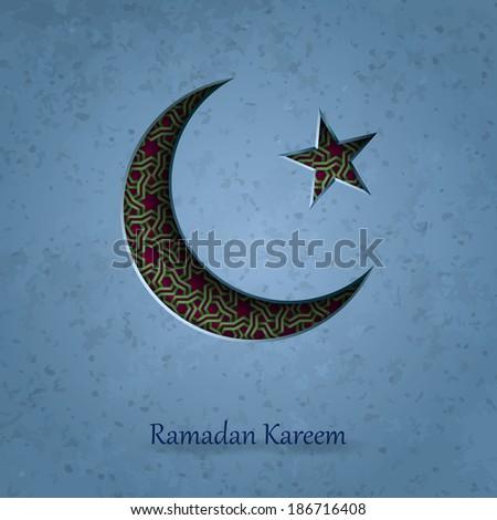 Islamic pattern background, Ramadan Kareem background, Arabic ornament - stock photo
