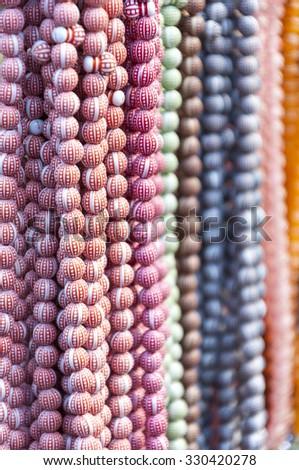Islamic rosary beads - stock photo