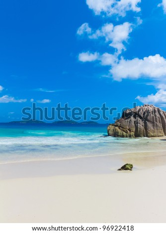 Island Exotic Getaway - stock photo