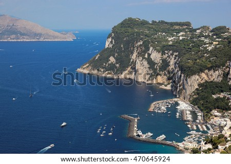 Island of Capri, Mediterranean Sea, Italy, Europe