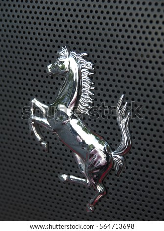 ferrari logo stock images, royalty-free images & vectors