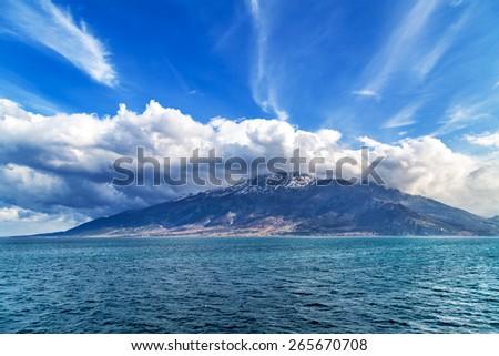 Island Samothraki  - stock photo