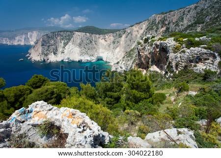 Island Zakynthos - stock photo