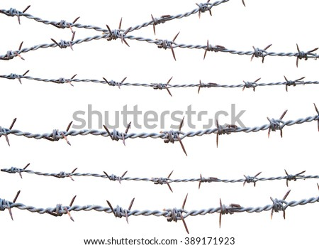 isolate barbed wire